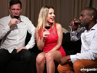 Tryst with Angel Rivas ends with ardent threesome sex
